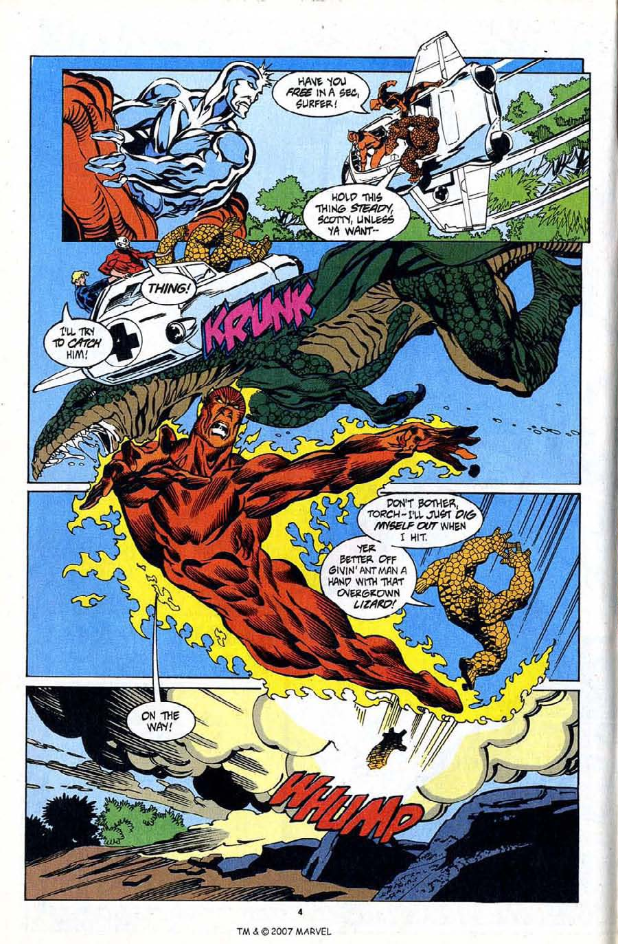 Read online Silver Surfer (1987) comic -  Issue #94 - 6