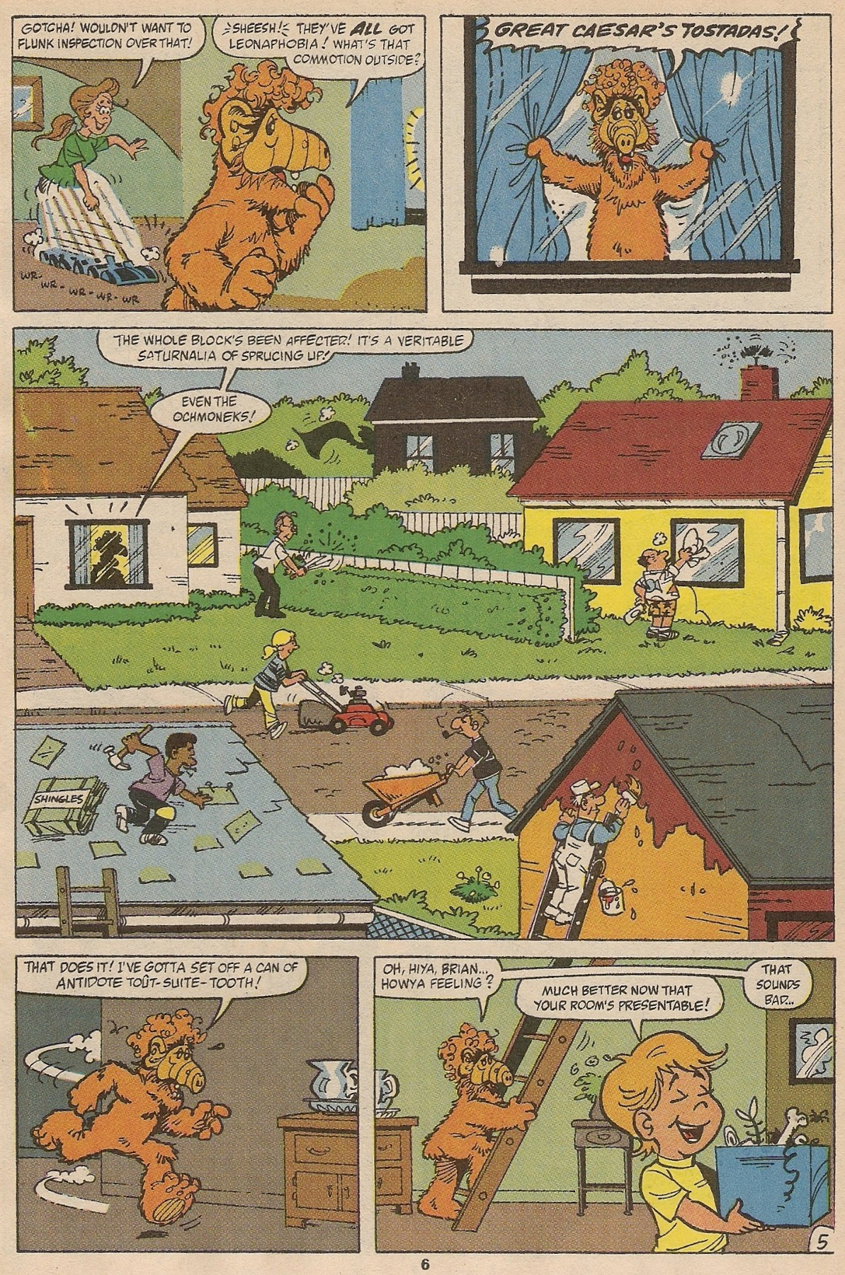 Read online ALF comic -  Issue #35 - 8
