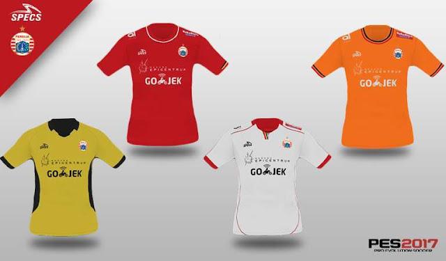 Persija Jakarta 2018 Kit PES 2017