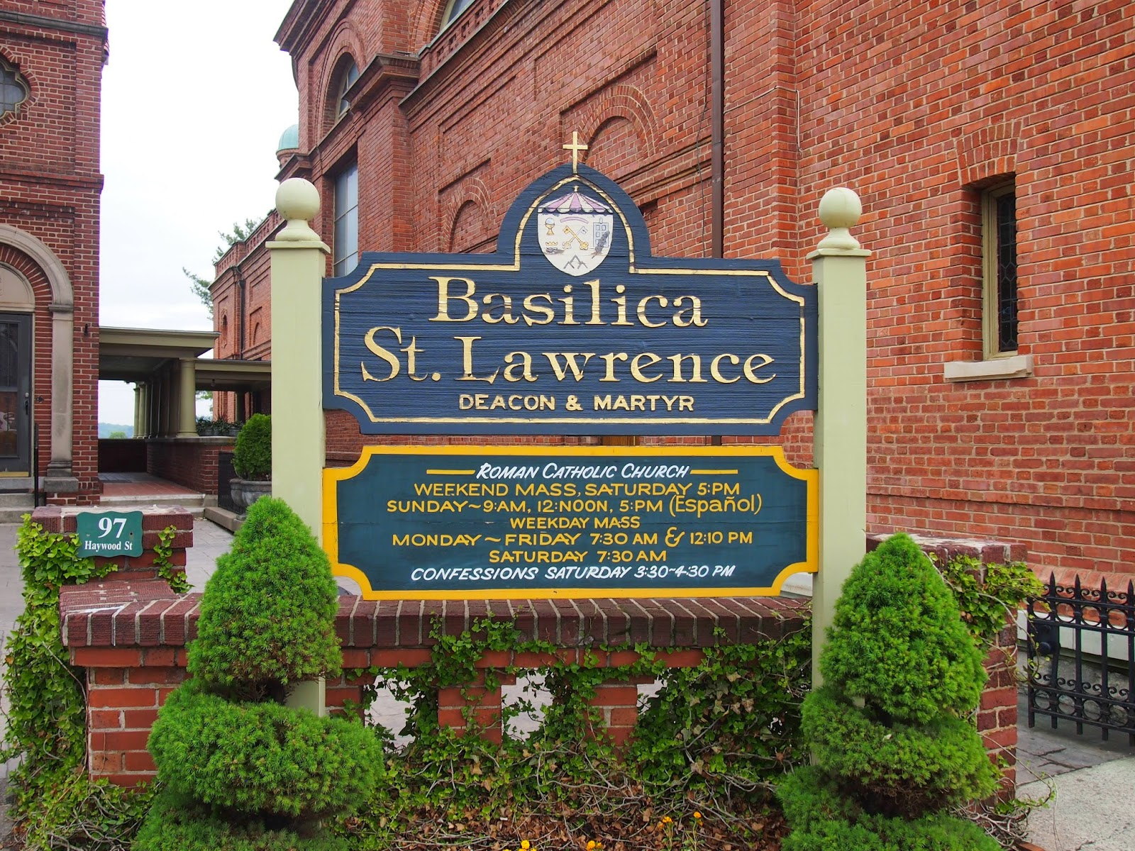 St. Lawrence Basillica in Asheville, North Carolina