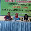 Audit Eksternal ISO 9001:2008 Smk Muhammadiyah 1 trenggalek