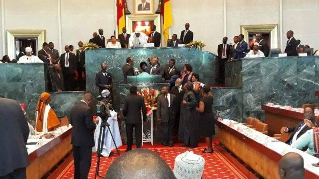 National Assembly, SDF Blocks PM Yang