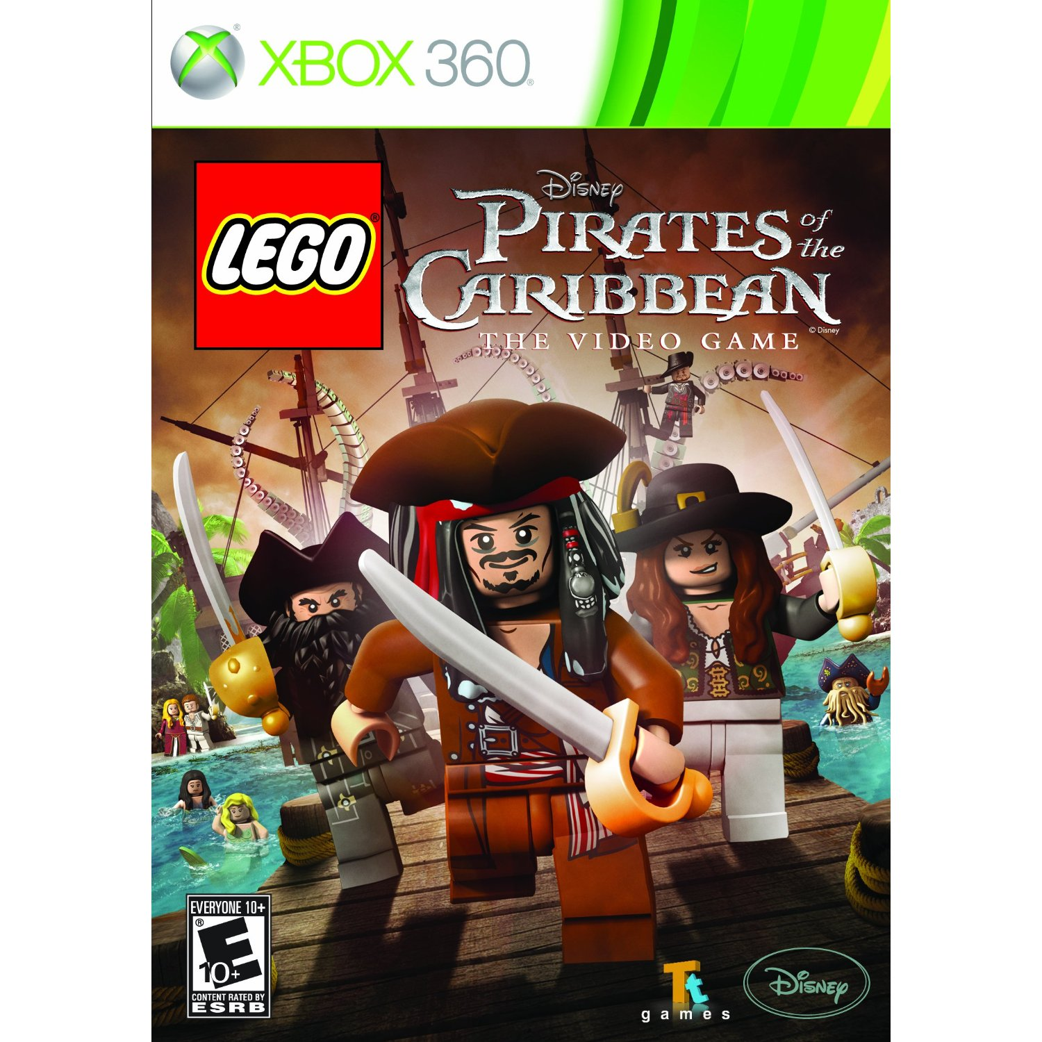 Amazon: LEGO Pirates Of The Caribbean For Xbox 360/PS3/Wii