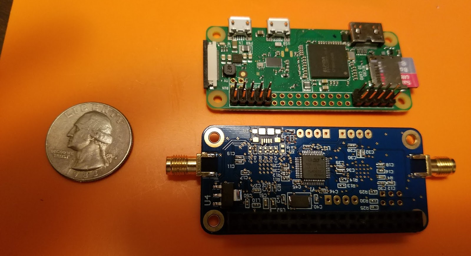 Hvdn Notebook Review N5boc Duplex Hotspot Board Circuit David Dennis Has Created A High Quality Small Mmdvm For Use With The Raspberry Pi Zero Or Any Of Larger Too