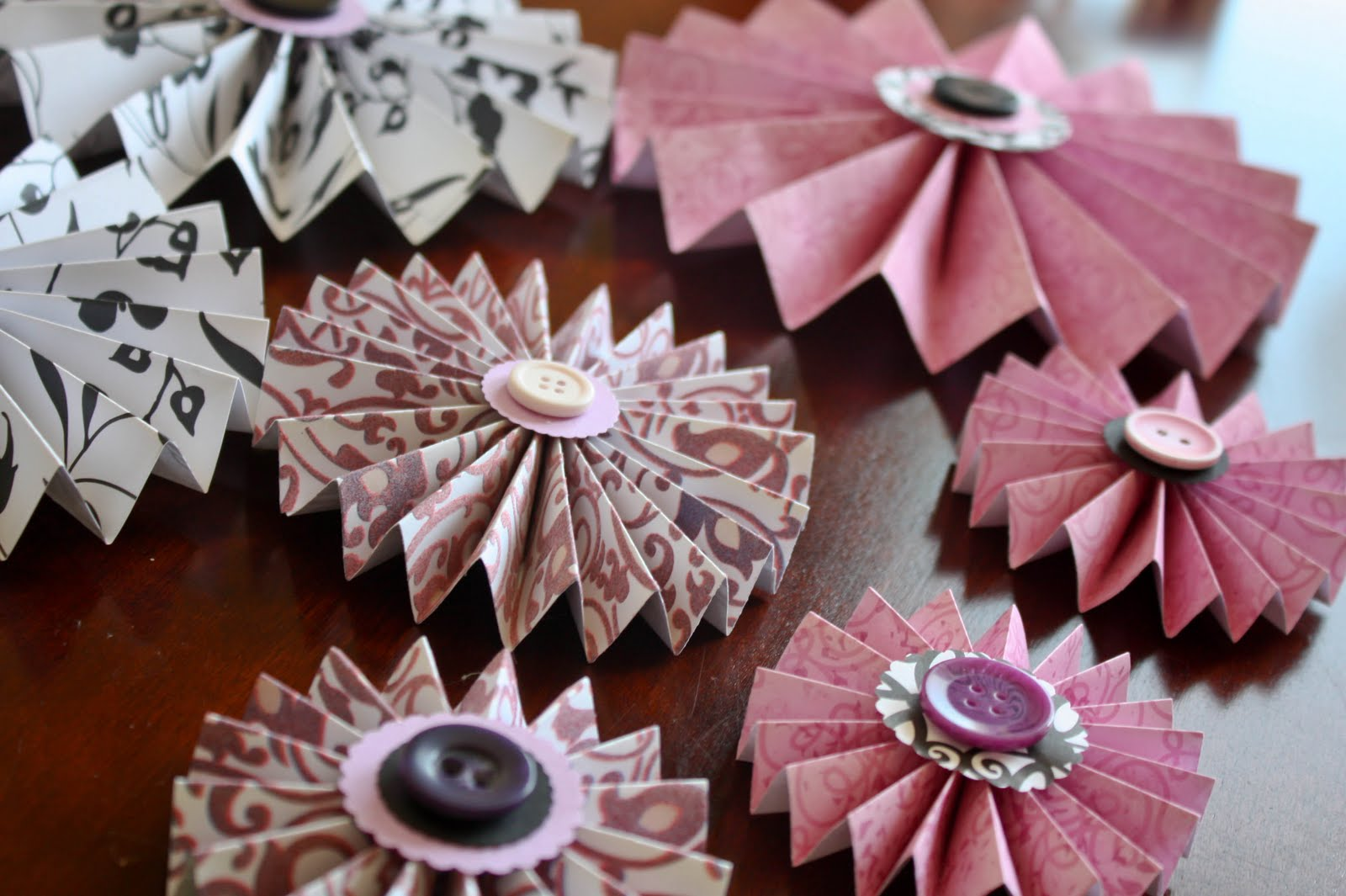 Pretty Paper Rosette Tutorial Vixenmade Parties