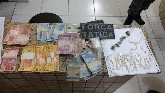 FORÇA TÁTICA FAZ MAIS UMA APREENSÃO DE DROGAS NA TREZIDELA