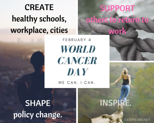 The theme of World Cancer Day - We Can, I Can - aims to showcase how we - as individuals as well as a group - can do our bit to reduce the burden of cancer on an individual, a family and a society. Cancer is not someone else's battle. It affects us all. It affects our loved ones. And we can make a difference. #WorldCancerDay #WeCanICan