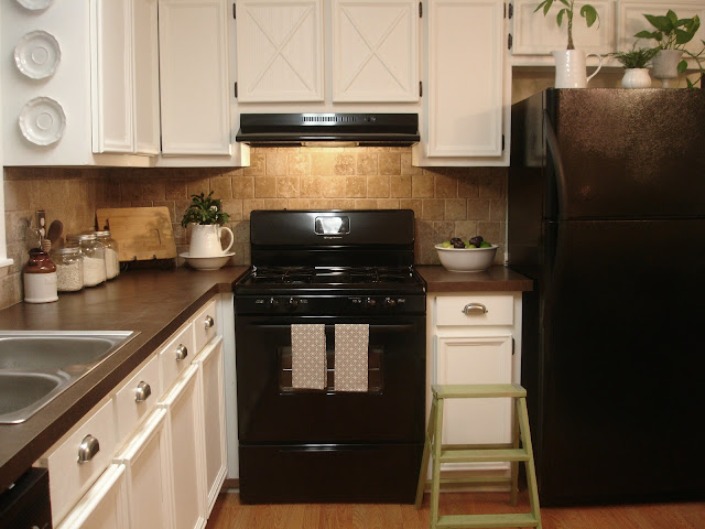updating kitchen cabinets with molding