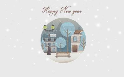 Happy New Year 2017 Greeting Cards