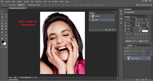 Como transformar foto em desenho usando o Photoshop