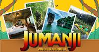 Logo Jumanji: vinci gratis un viaggio in Thailandia per 4 persone