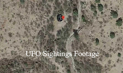 UFO crash landing site found on Google Maps again in Arizona no fly zone.