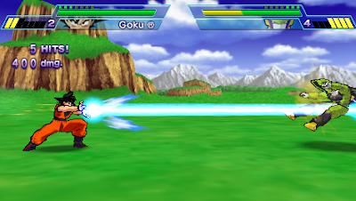 Dragon Ball Z Shin Budokai PPSSP ISO Android