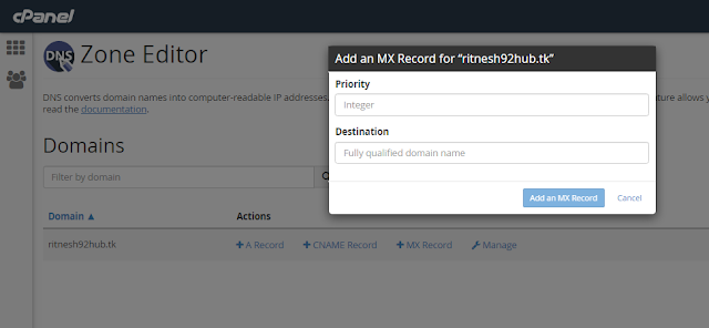 How to update MX records and TXT records in server| buy the cheapest linux hosting from redserverhost