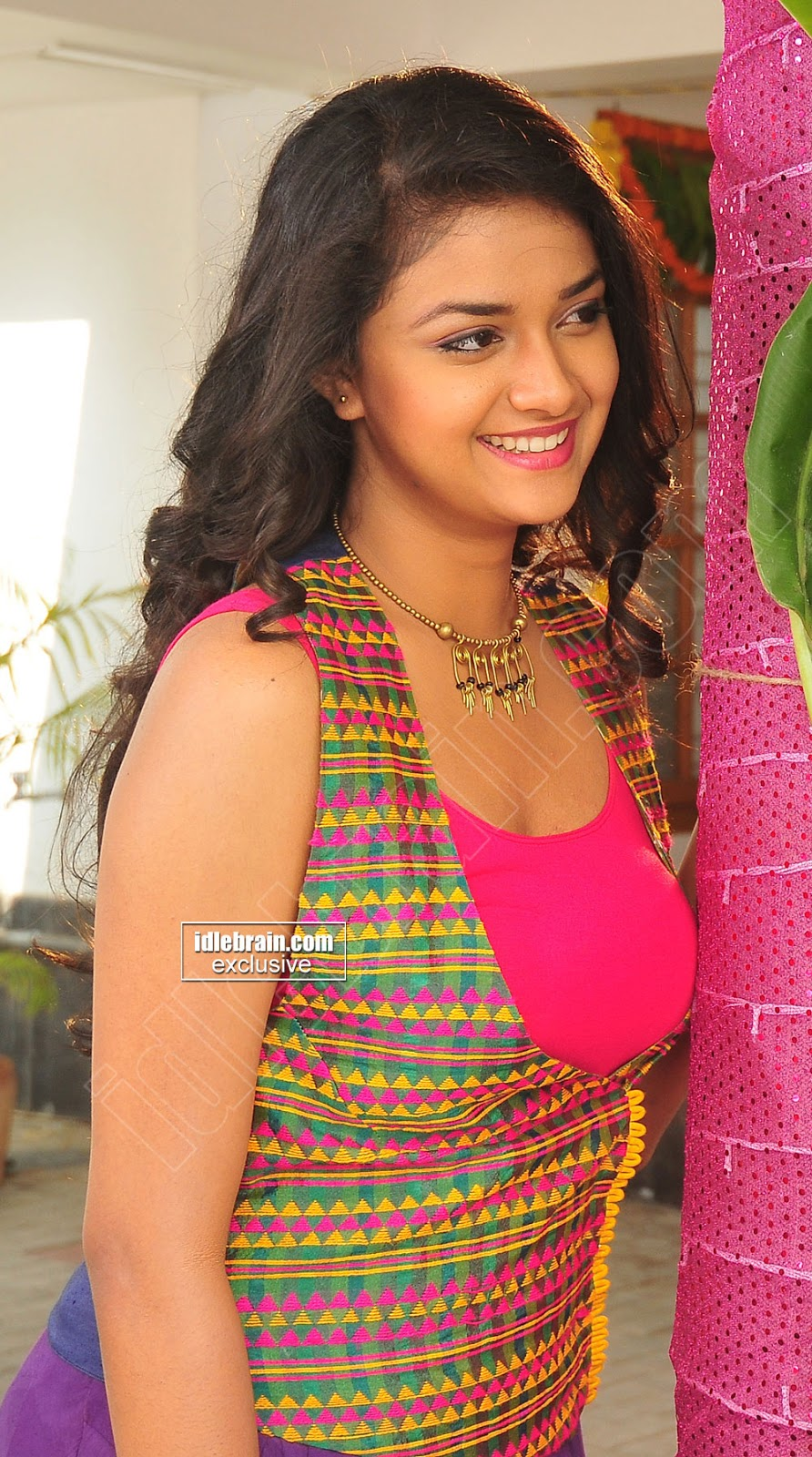 Only Actress 143 Keerthi Suresh Stills At Nenu Sailaja Movie-1639