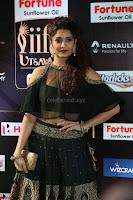 Ritika Singh in a Ethnic Deep Neck Dark Green Choli Ghagra at IIFA Utsavam Awards March 2017 ~ 053.JPG