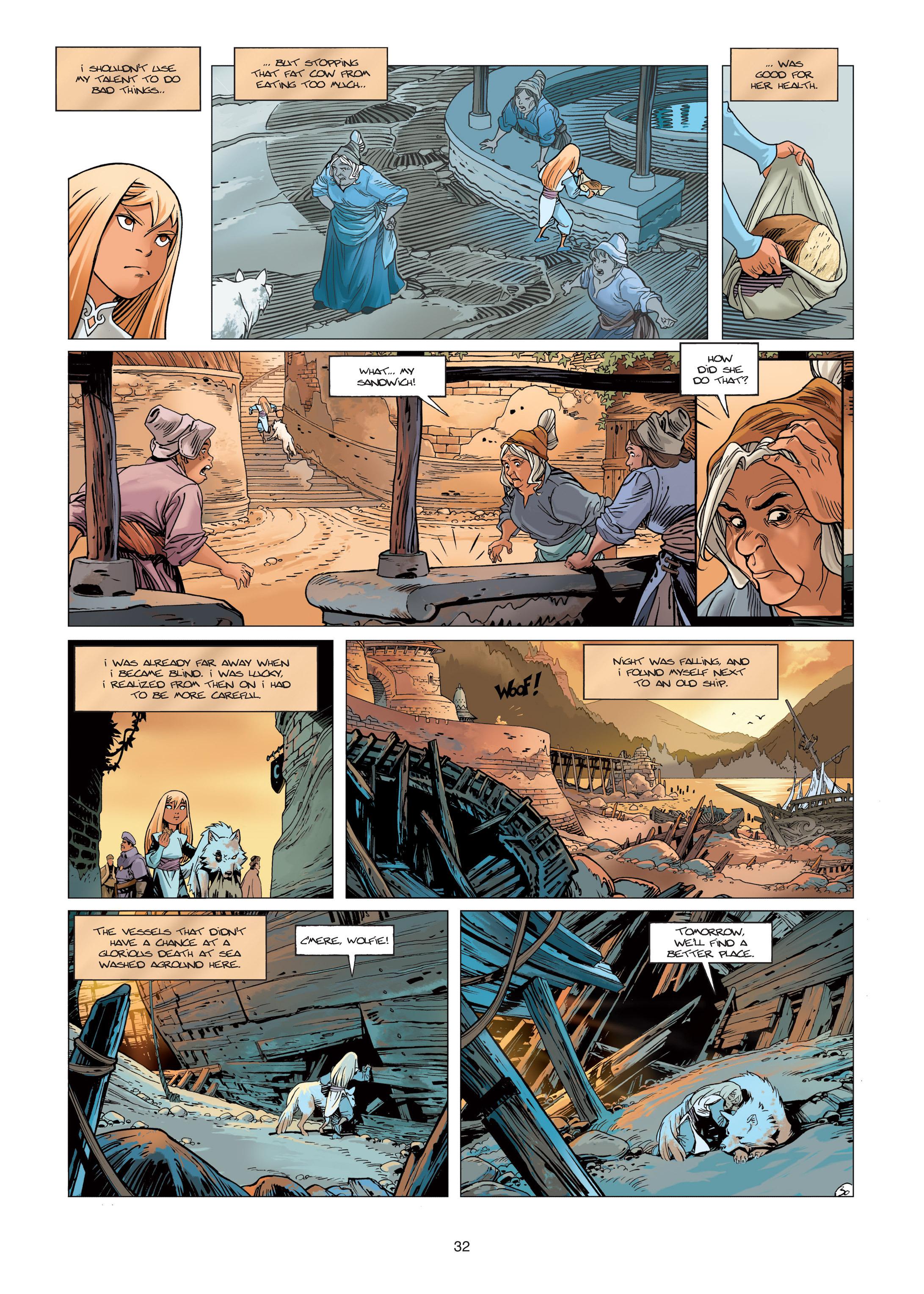Read online Sangre Vol. 1: Sangre the Survivor comic -  Issue # Full - 32