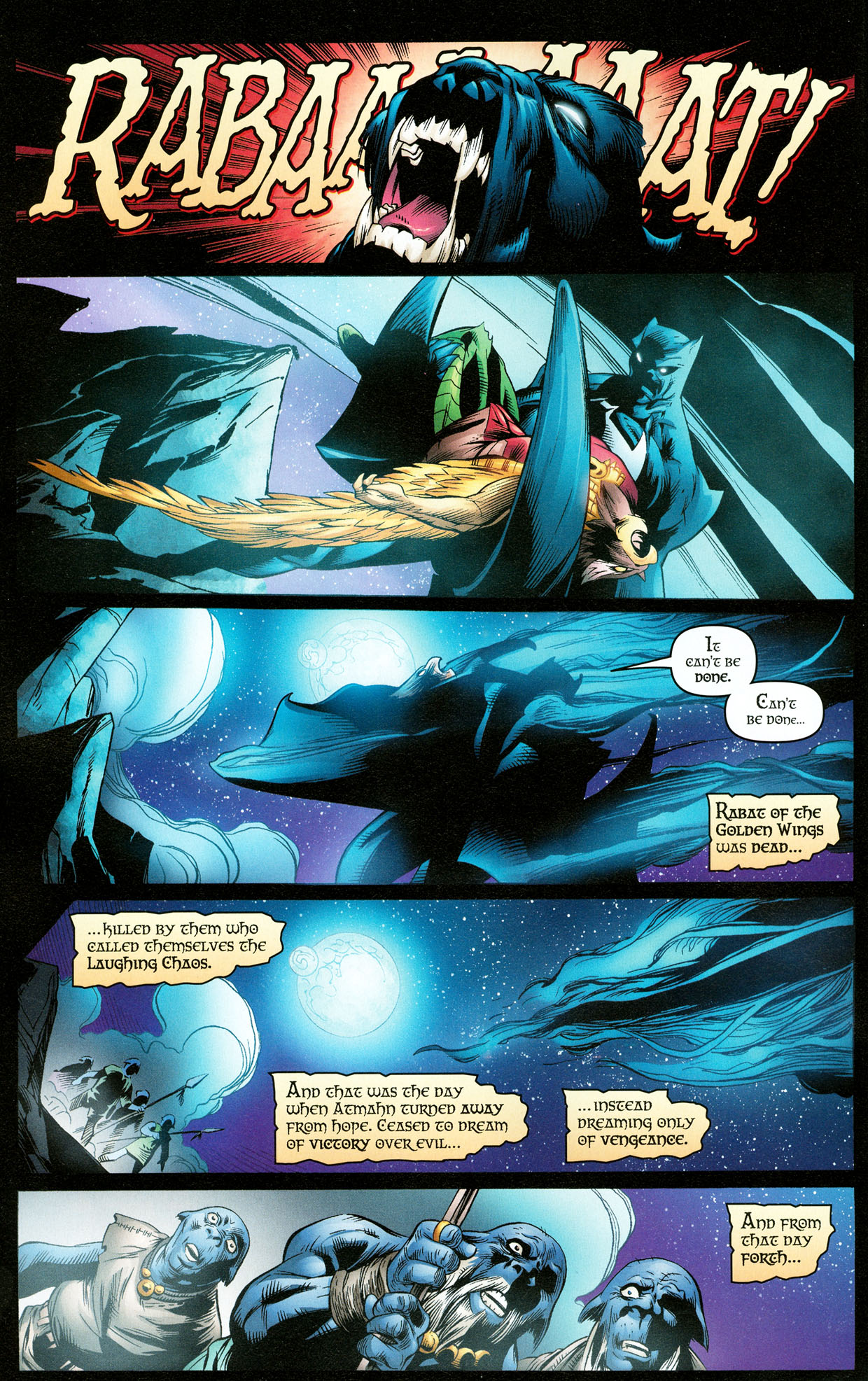 Read online Trinity (2008) comic -  Issue #32 - 4