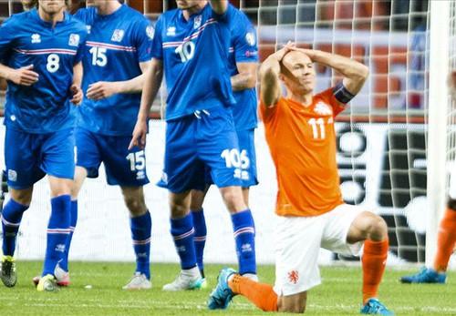 Hà Lan đã thua tới ¾ trận.