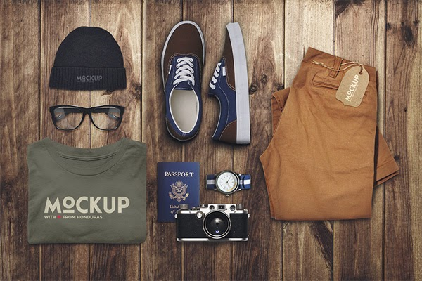 Download Branding Travel Mockup Gratis - TRAVEL MOCKUP BY EAMEJIA