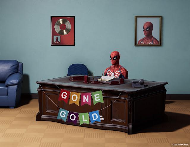 Spider-Man de PlayStation 4 ya es gold