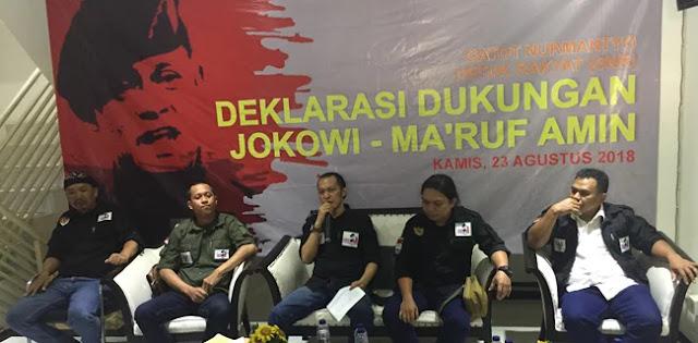 Relawan Gatot Beralih Dukungan ke Jokowi-Ma'ruf Amin