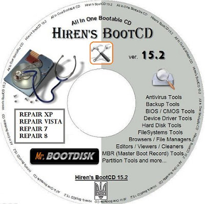 Hiren's Boot DVD 15.2 Restored Edition