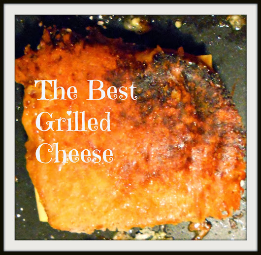 Grilled Cheese--Awesome Style.