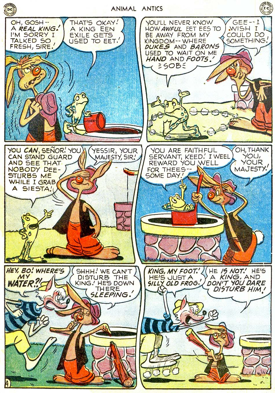 Read online Animal Antics comic -  Issue #28 - 35