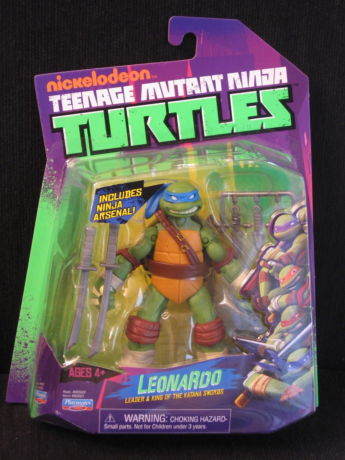 The Toyseum Leonardo Playmates Teenage Mutant Ninja Turtles 2012