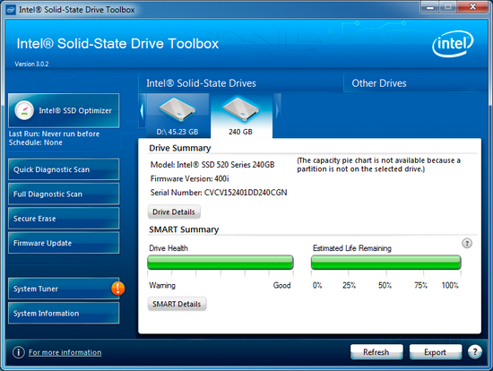 Intel Solid State Drive 520 Series | [RHL] Review Hardware Last