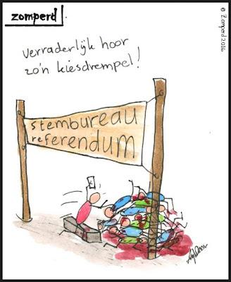 Zomperd - kiesdrempel referendum