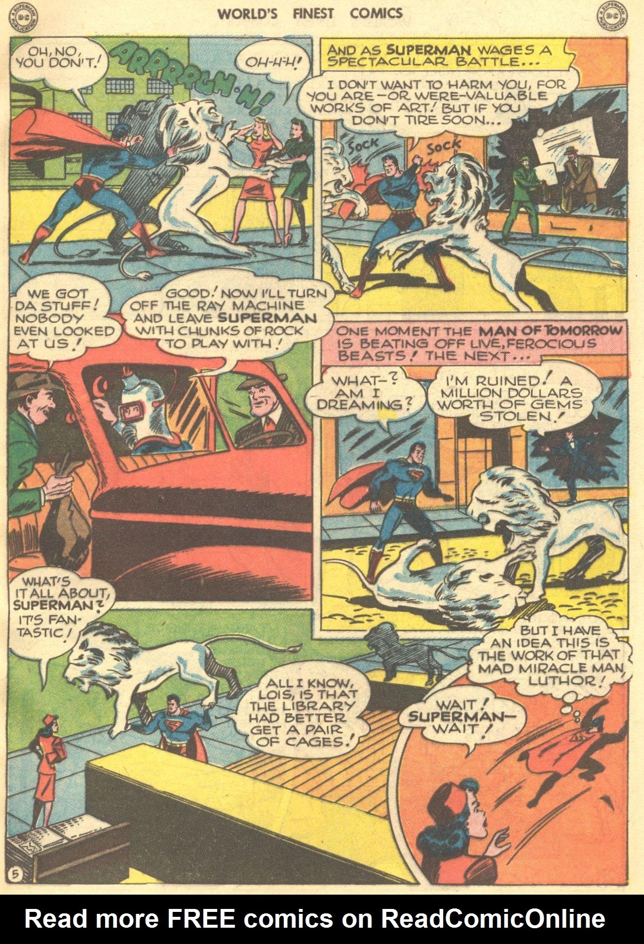 Read online World's Finest Comics comic -  Issue #28 - 6