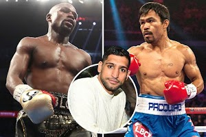 Amir Khan Wants A Fight With Mayweather & Manny Pacquiao But They Are Avoiding Him