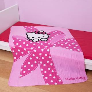 Gambar Selimut Hello Kitty 1