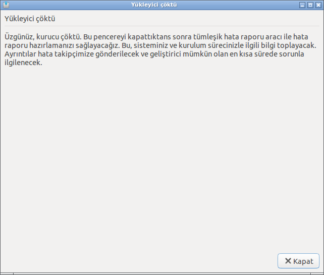 VirtualBox'a Lubuntu kurulmuyor