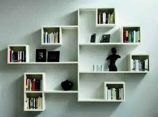 Model Rak Buku Simpel Dan Minimalis