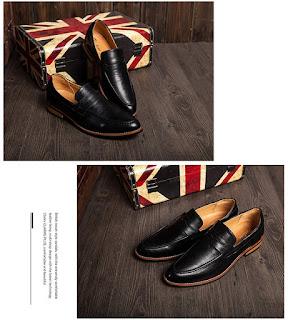 Sepatu Pantofel Cowok Korea Model Terbaru Mei 2016