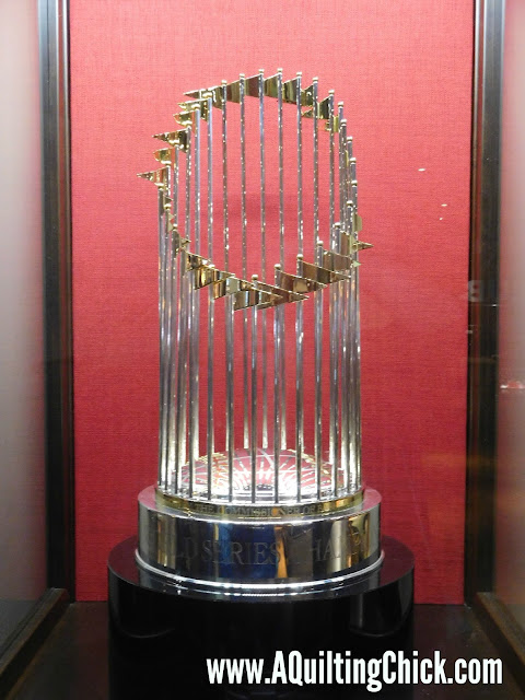 A Quilting Chick - Cardinals Trophy
