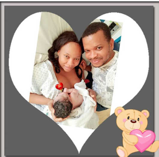 Actress Chika Sugar And Hubby Welcome Baby Girl