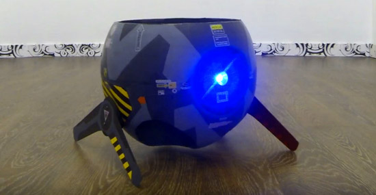 Russos criam o mais drone esquisito que você já viu