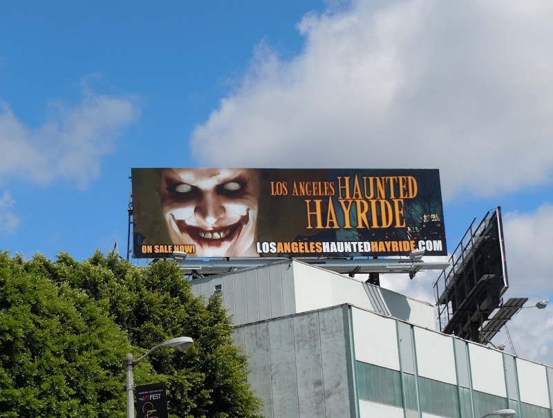 LA Haunted Hayride 2011 billboard