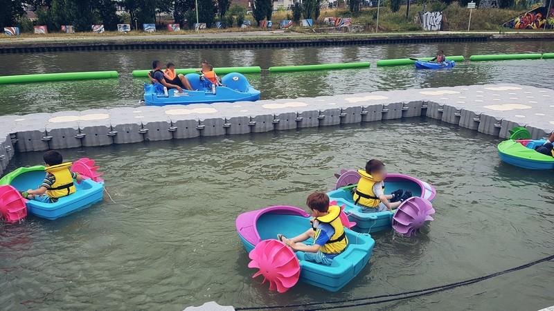 L'été du canal - base nautique de Bondy/Noisy-le-Sec - Seine-Saint-Denis