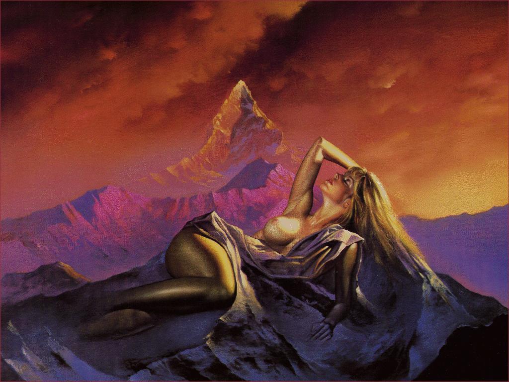 Aurora - Obras de Boris Vallejo ~ O melhor no campo da fantasia - Peruano