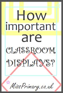 classroom display advice primary school teacher