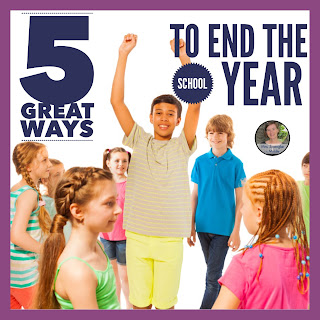 5 Great Activities and Ideas to End the School Year!  My favorites are #3 and #5!  #teaching #middleschool