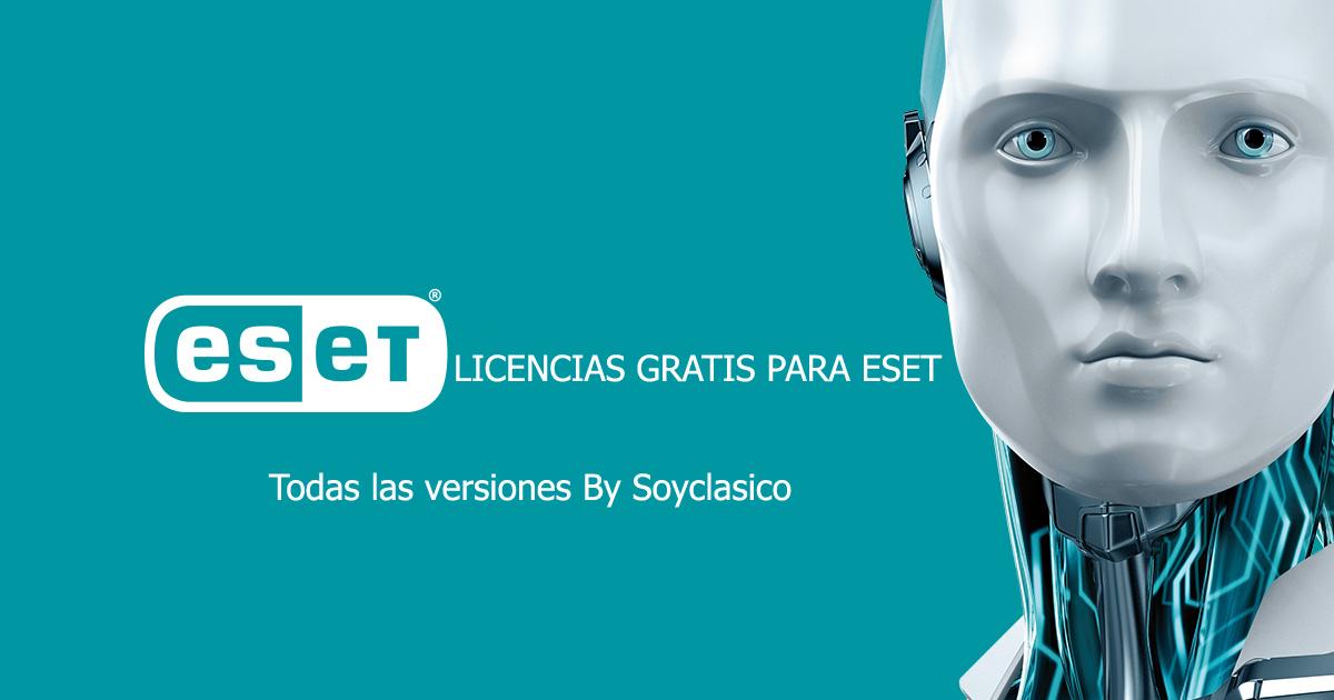 licencias nod32 actualizadas 2018 gratis