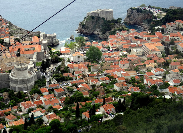 Dubrovnik Cable Car Ride Views