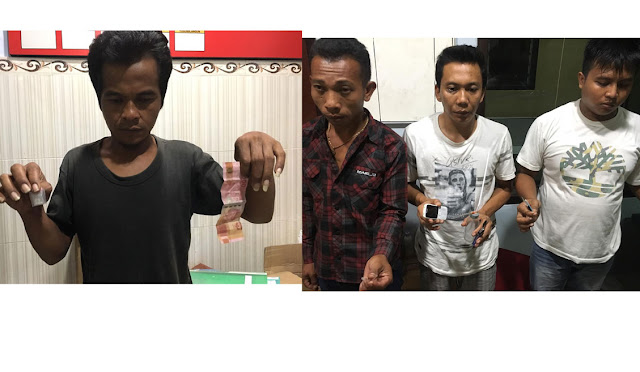4 pelaku narkoba