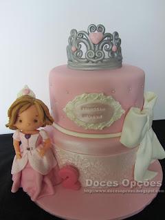 Bolo do 2º aniversário da princesa Leonor